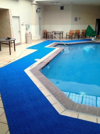 Slip Resistant Pool Deck Matting Pem Surface