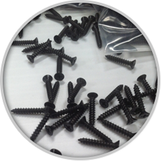 PEM flat head deck screws