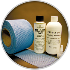 adhesive kit for seams