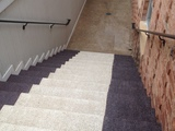 High Friction Matting Staircase